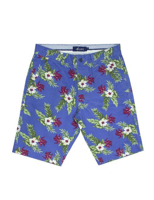 In Bloom Floral Print Chino Shorts – SA2.1