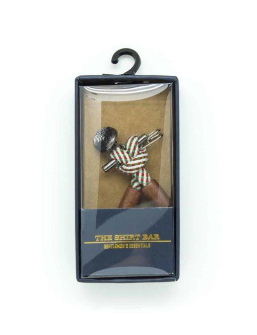 Green Stripes Lapel Pin LP17.6