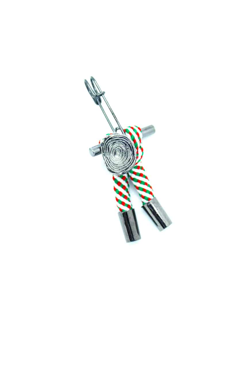Green Stripes Lapel Pin LP176.8