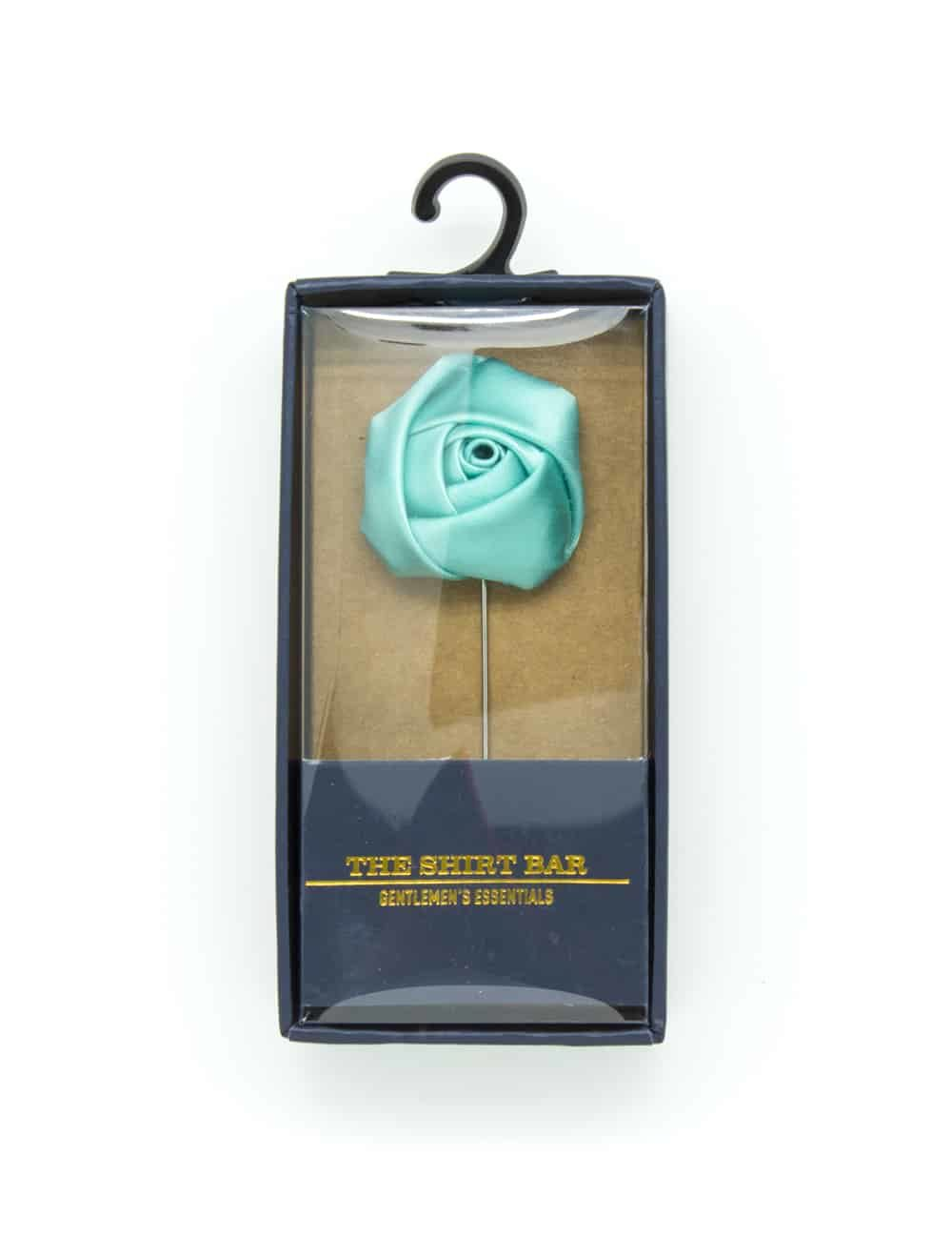 Mist Green Rose Lapel Pin LP250.8