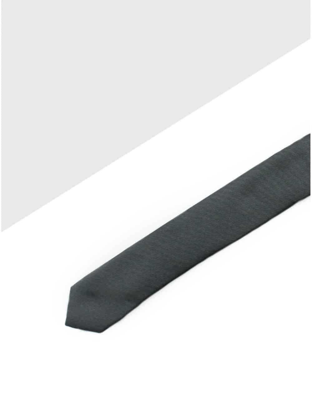 Solid After Dark Woven Necktie NT2.7