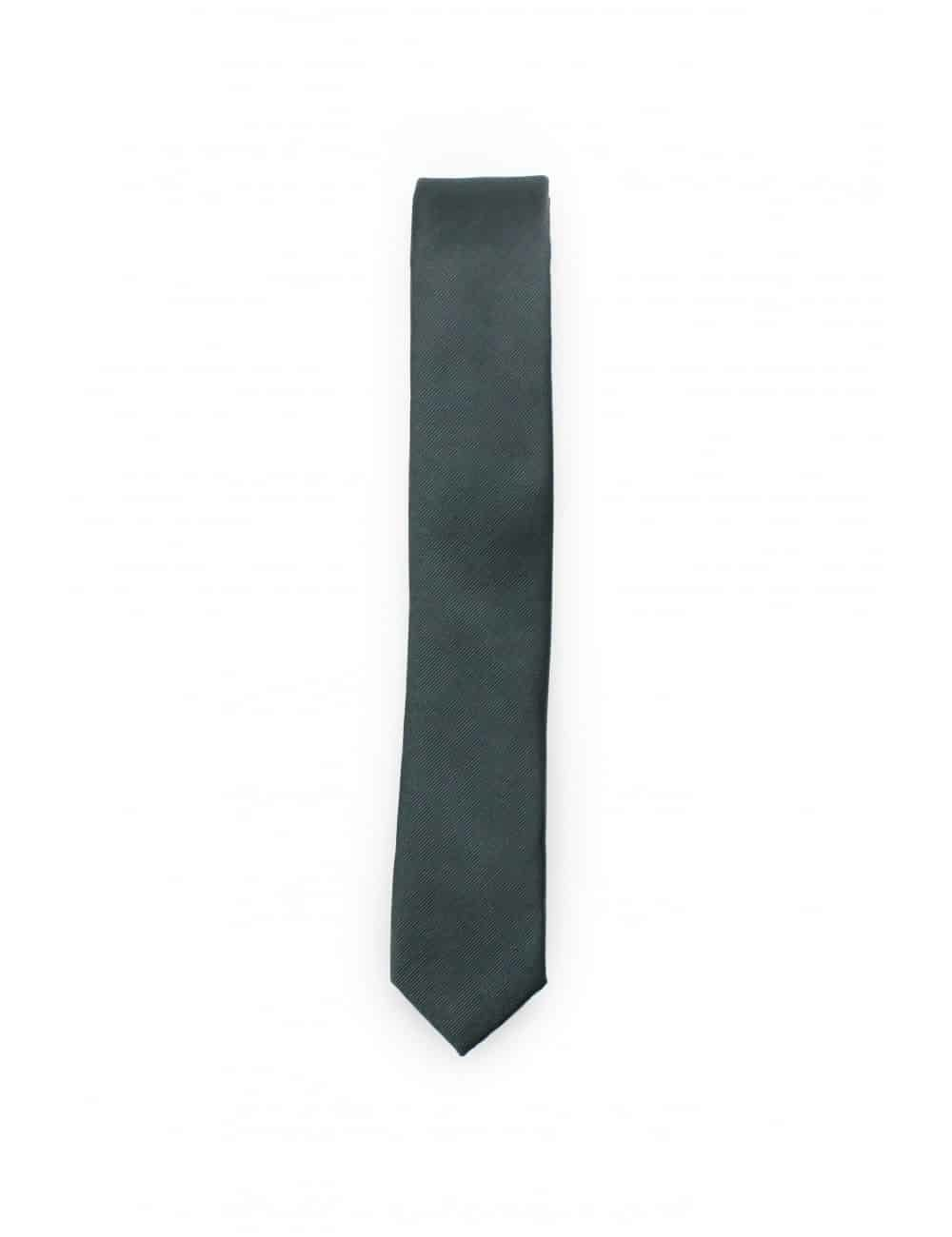Solid After Dark Woven Necktie NT2.7
