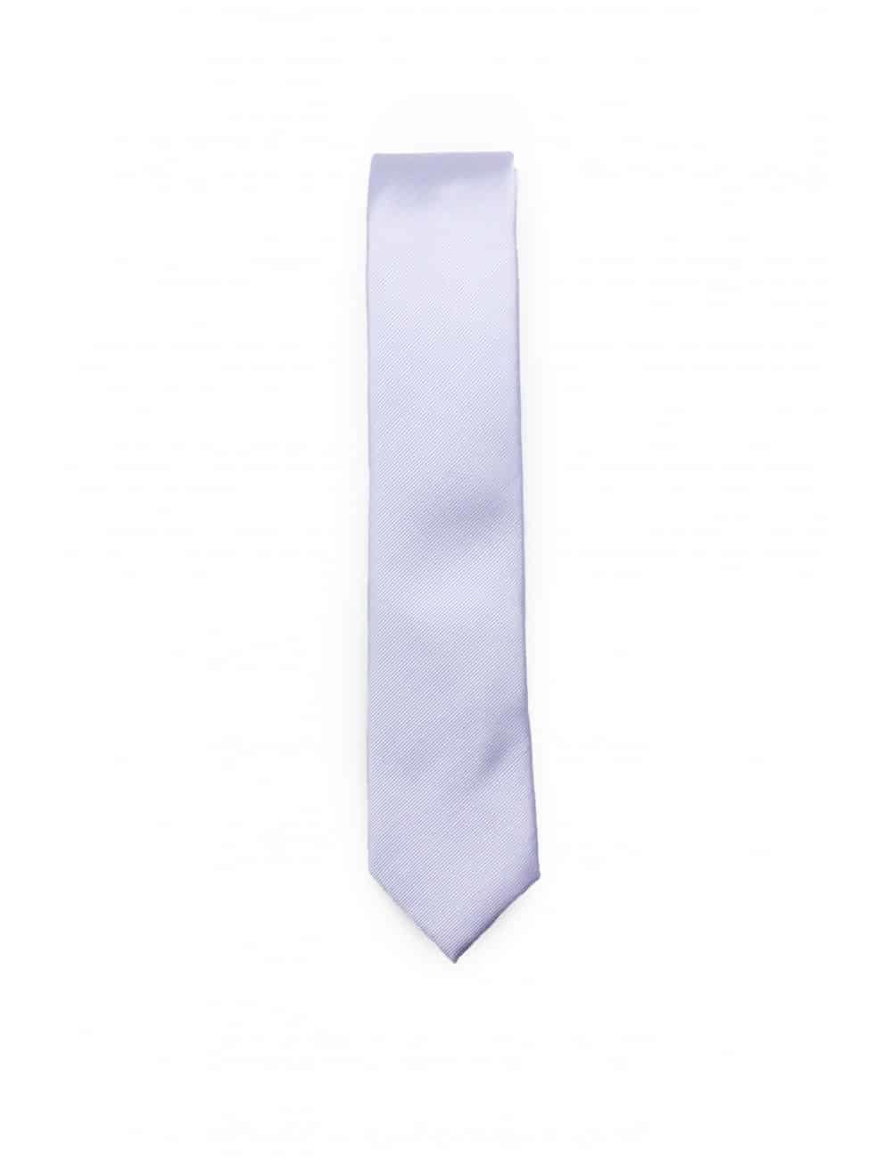 Solid Dusk Purple Woven Necktie NT19.7