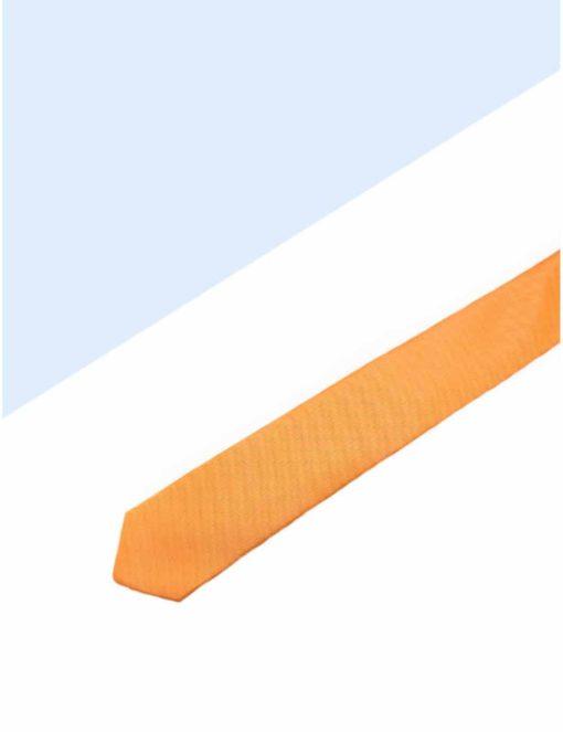 Solid Golden Oak Woven Necktie NT7.7