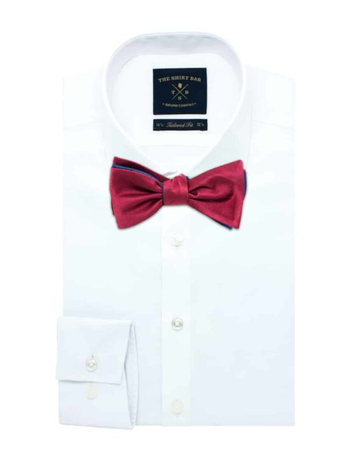 Navy and Red Reversible Self Tie Bowtie WRSTBT2.6