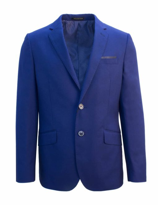 Tailored Fit Dress Blue Single Breasted Blazer B2B3.1