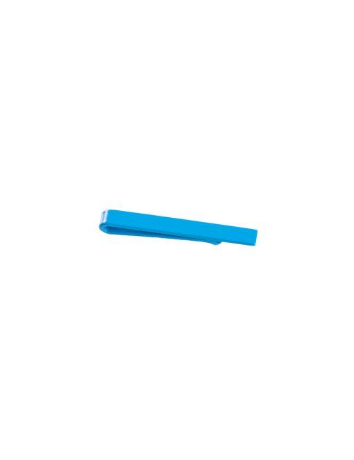 Plain Cobalt Blue Tie Clip