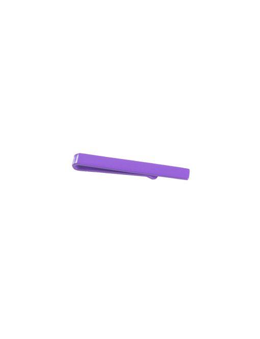 Plain Purple Tie Clip