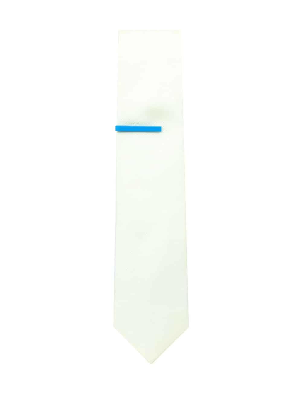 Plain Sky Blue Tie Clip T111FE-009C