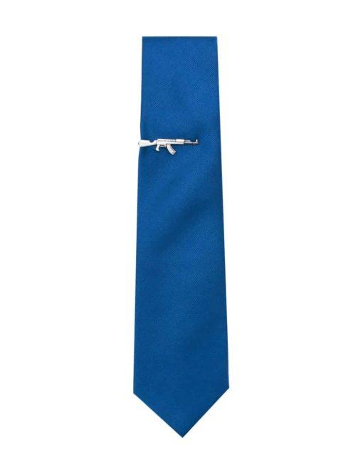 Antique Silver Rifle Tie Clip T231NF-003C