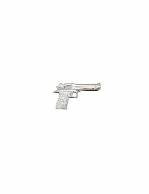 Metal pistol gun Tie Clip T231NF-004A