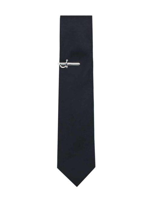 Silver Swords Tie Clip T231NF-006B