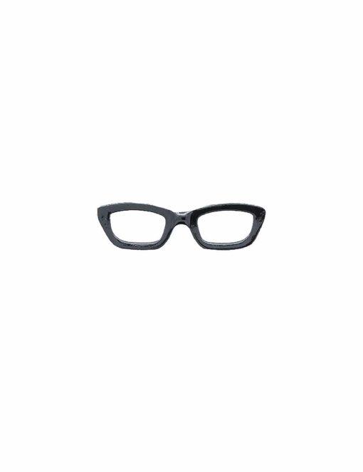 Black Frame Spec Tie Clip TC3401-001a
