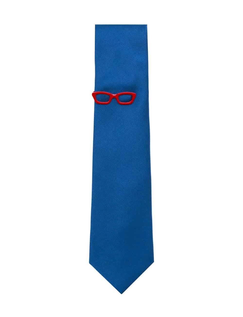 Red Frame Spec Tie Clip TC3401-001c