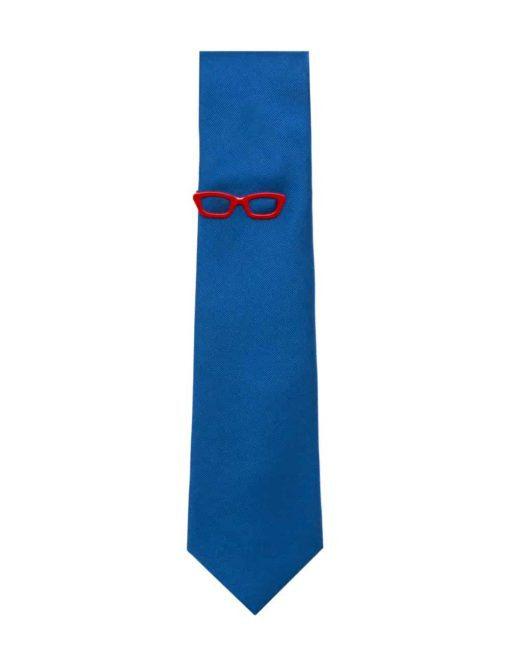 Red Frame Spec Tie Clip TC3401-001c