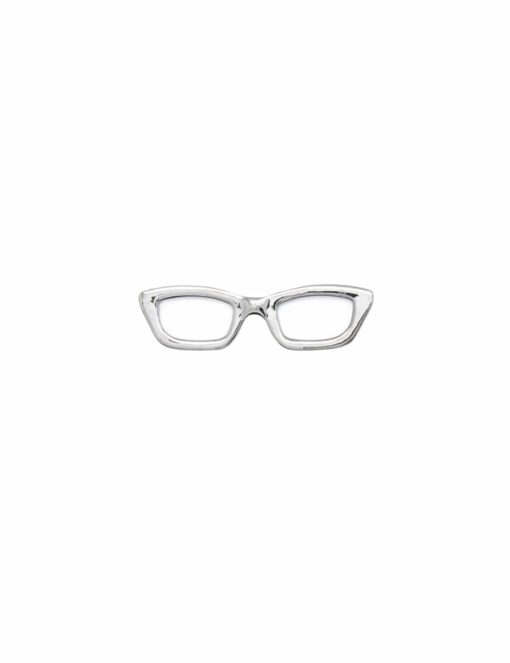 Silver Frame Spec Tie Clip TC3401-001d