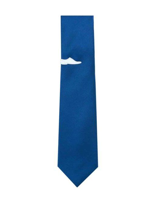 White Wingtip Shoe Tie Clip TC3401-002A