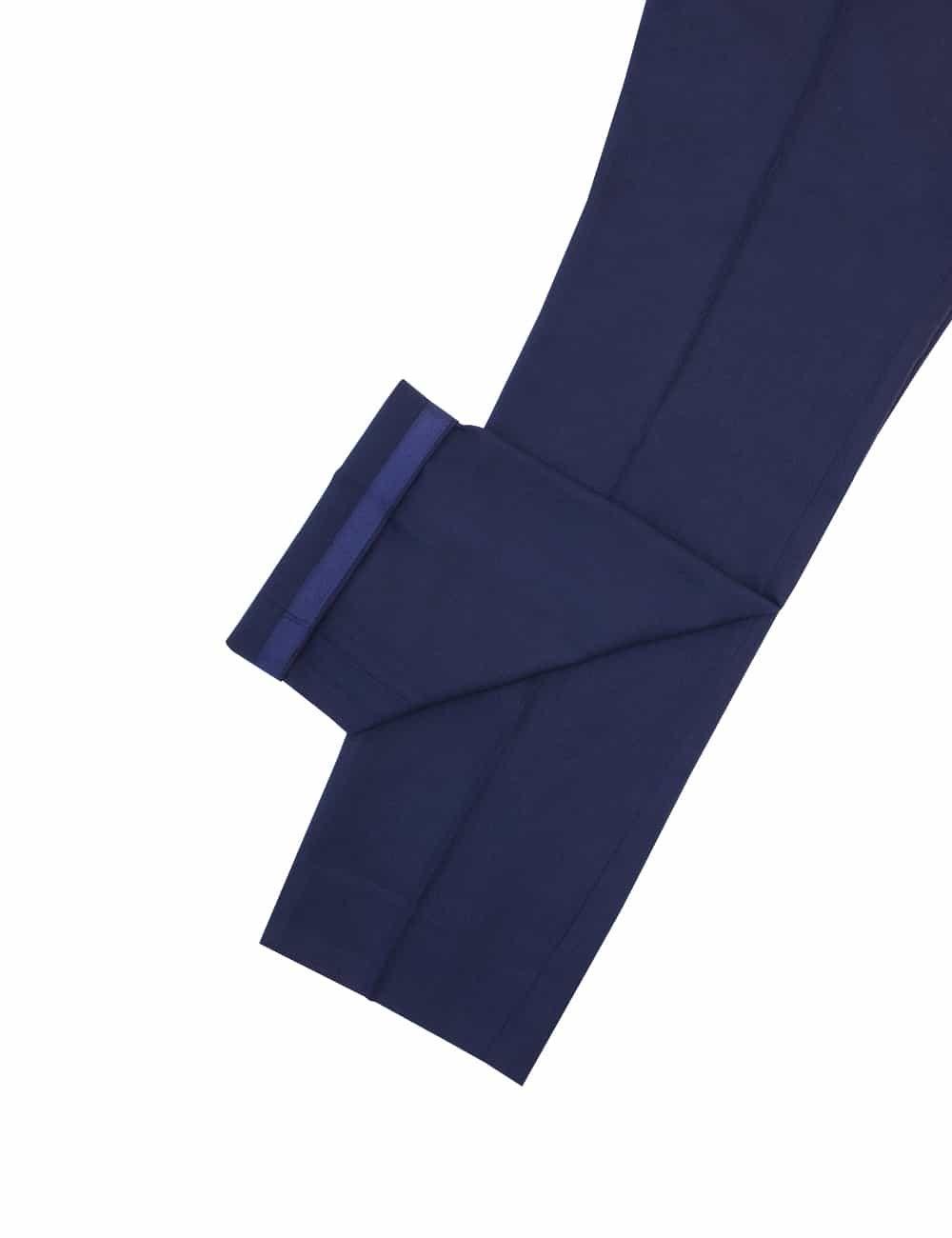 Tailored FitJetsetter Midnight Blue Smart Pocket Flat Front Dress Pants DPT1D7.2