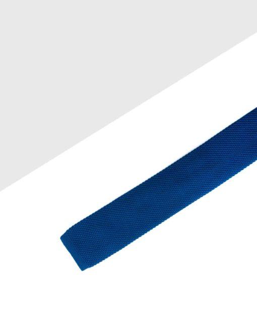 Midnight Blue Mixed Knitted Necktie KNT77.8