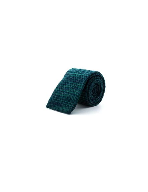 Green Mixed Knitted Necktie KNT74.8