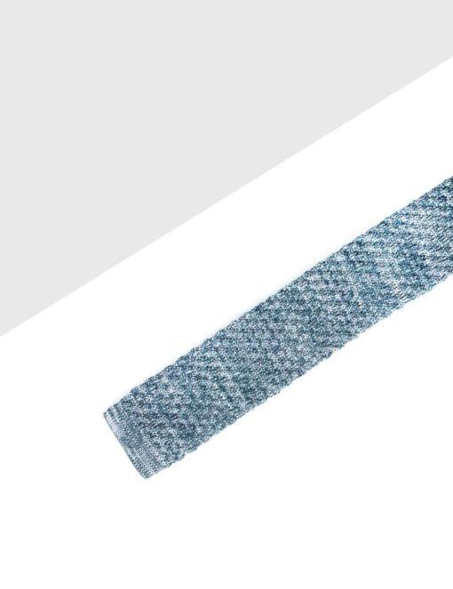 Solid Grey Knitted Necktie KNT80.8