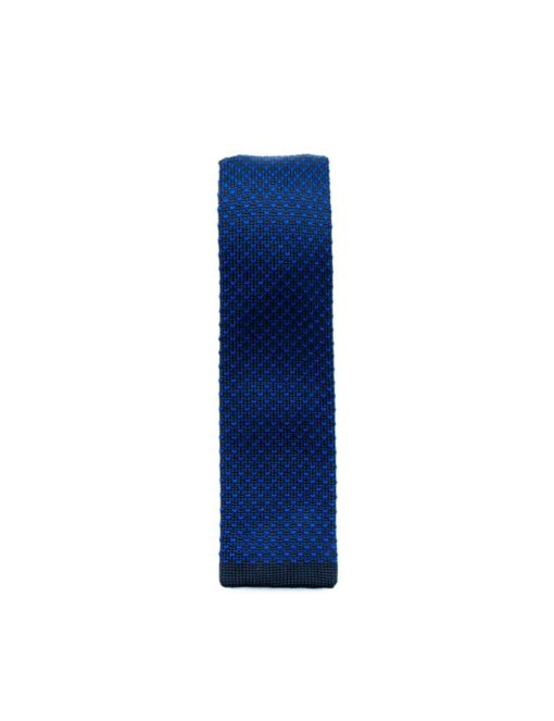 Nautical Blue Knitted Necktie KNT81.8