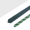 Grey and Green Stripes Reversible Woven Necktie RNT15.8