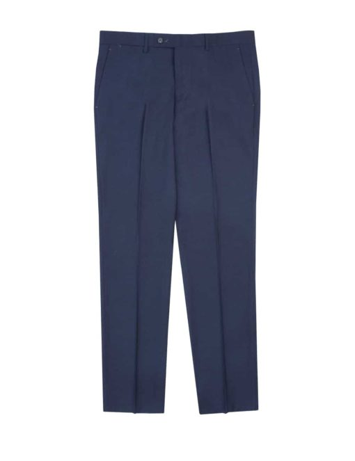 Tailored Fit Charcoal Grey Smart Pocket Flat Front Dress Pants DP1A1.3