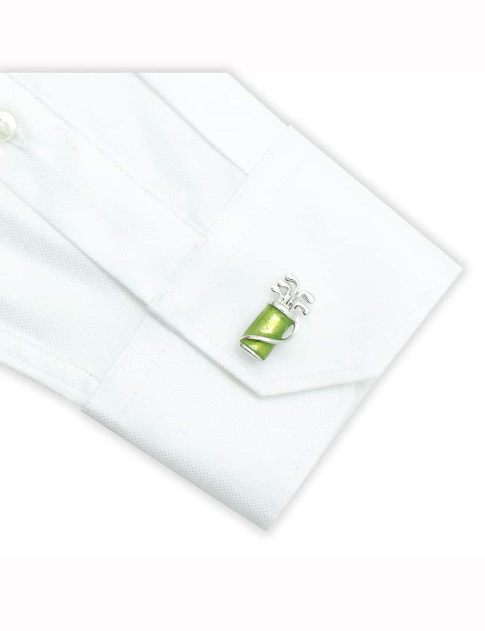 Green Golf Set Cufflink 0111-013B