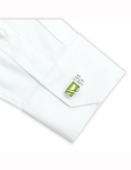 Green Golf Set Cufflink 0111-013B