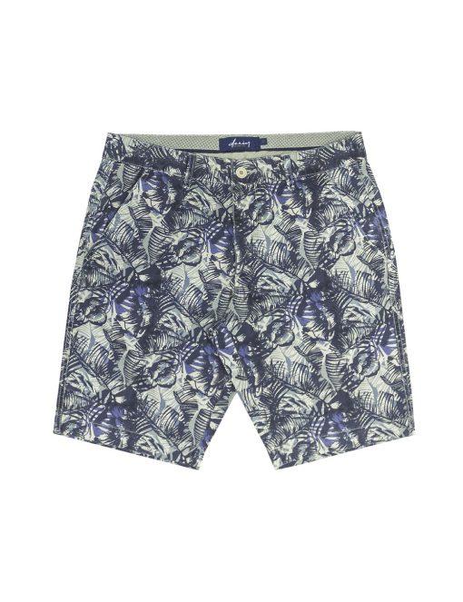 Tropicana Beige Printed Chino Shorts – SA1.1