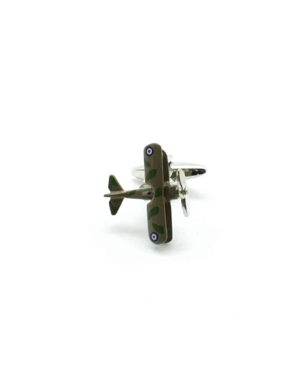 Camo RAF Aircraft Cufflink C271NA-011