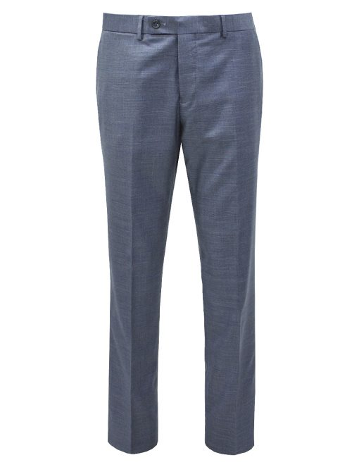 Grey Checks Slim / Tailored Fit Single Breasted Suit Set - SS3.4