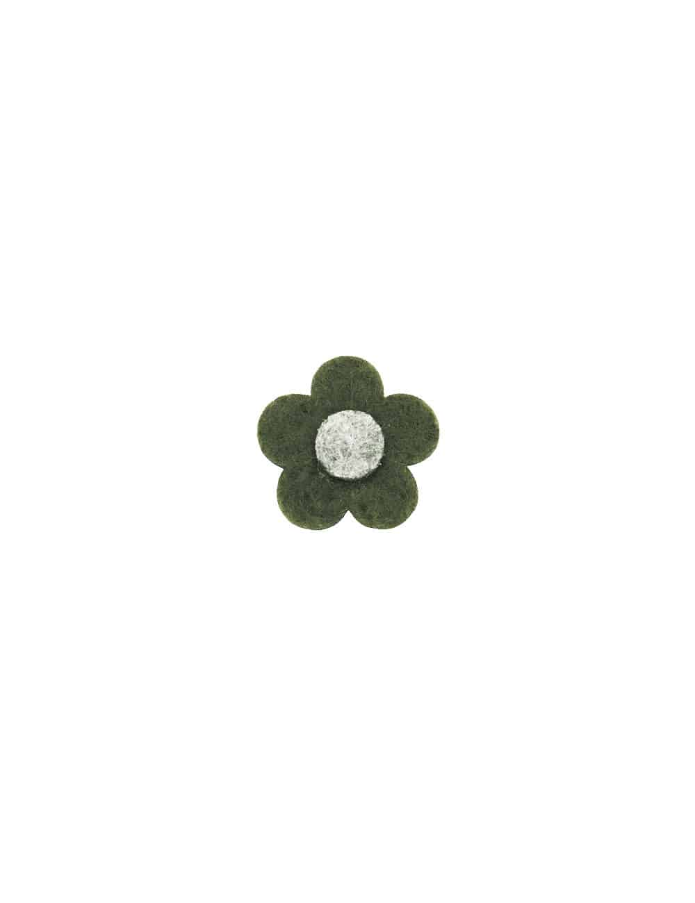 Oliver Green 3 tier Floral Lapel Pin LP24.10