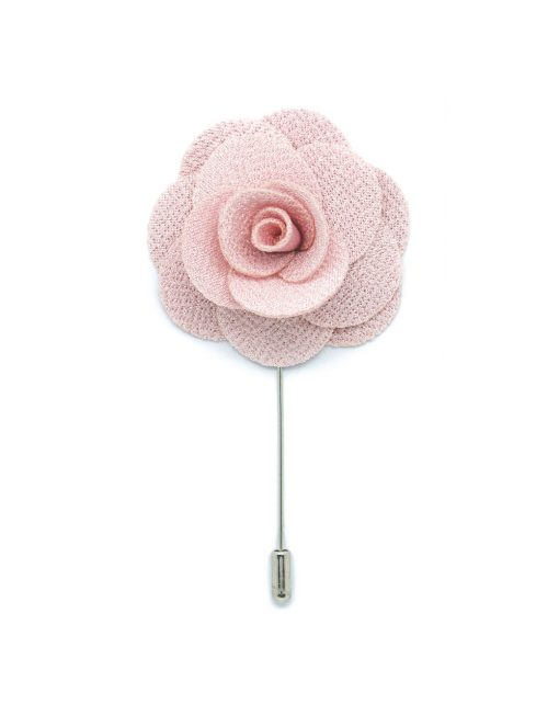 Light Pink Rose Lapel Pin - LP58.8
