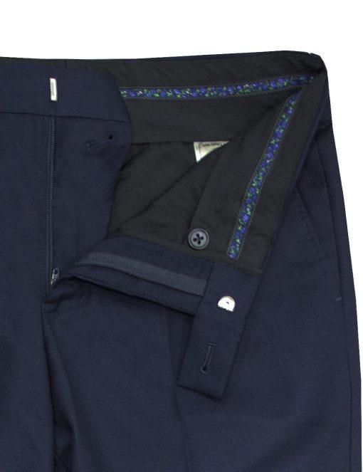 Midnight Navy Twill Dress Pants - DP1A5.4