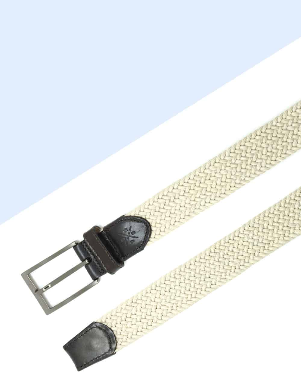 Beige Webbing Belt NLB20.8