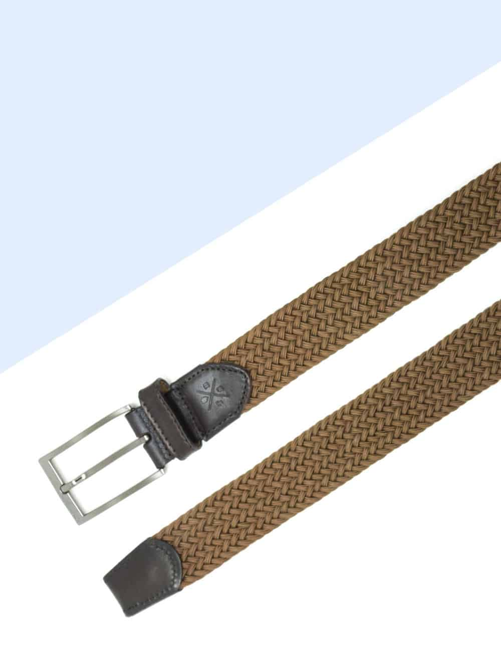 Coffee Brown Webbing Belt NLB23.8