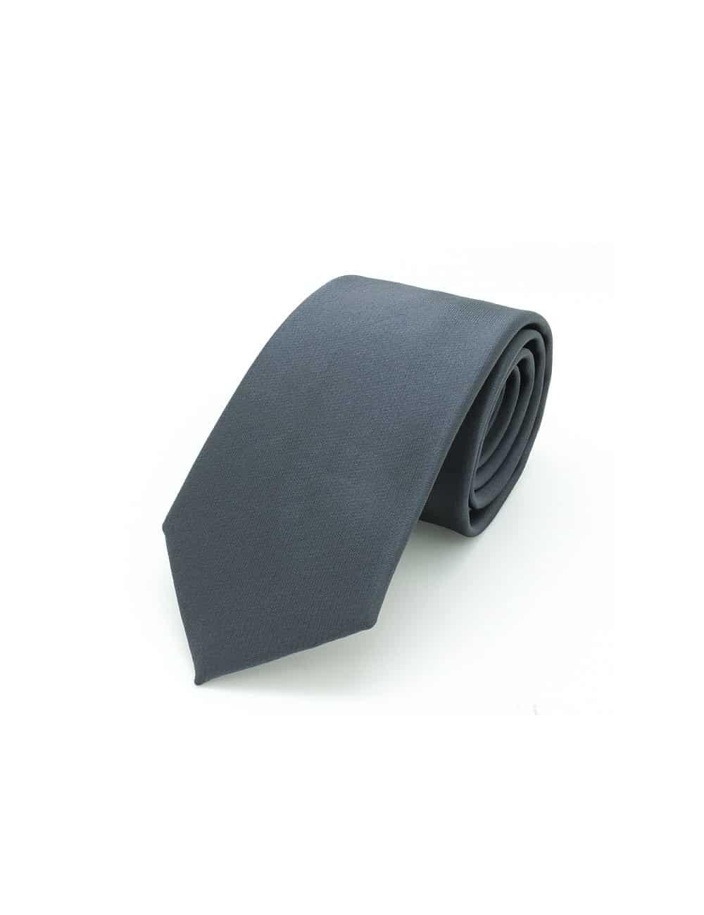 Solid Black Olive Woven Necktie NT10.9