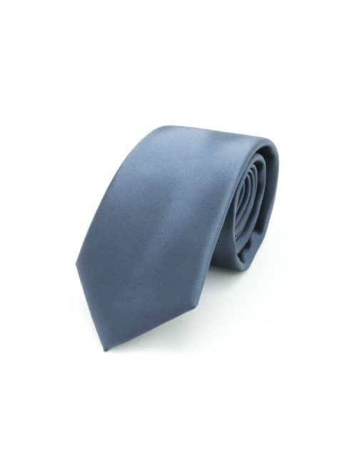 Solid Charcoal Grey Woven Necktie NT14.9
