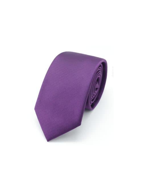 Solid Grape Royale Woven Necktie NT17.4