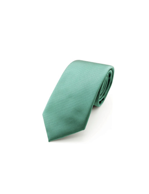 Solid Green Lake Woven Necktie NT24.4