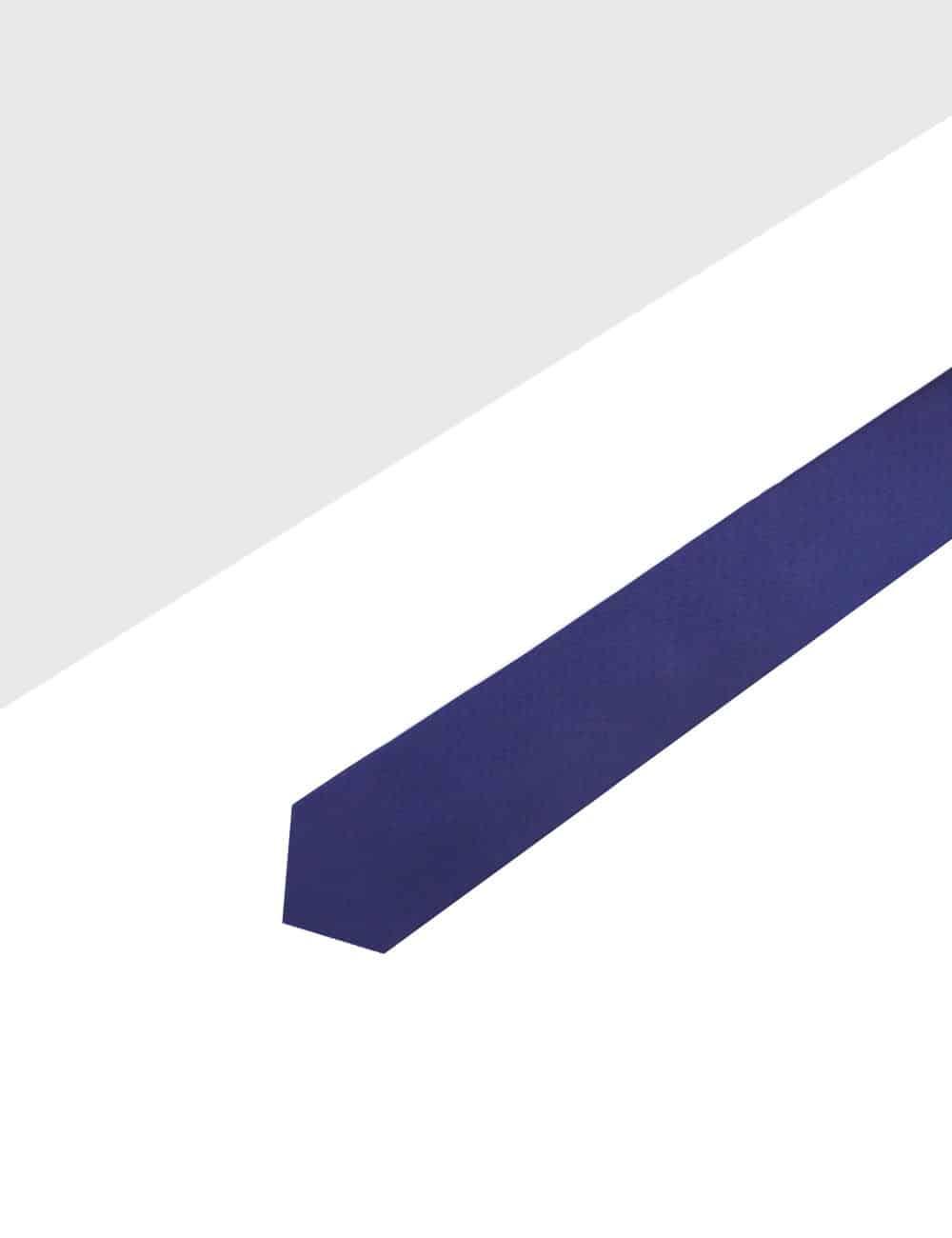 Solid Blue Print Woven Necktie NT27.4
