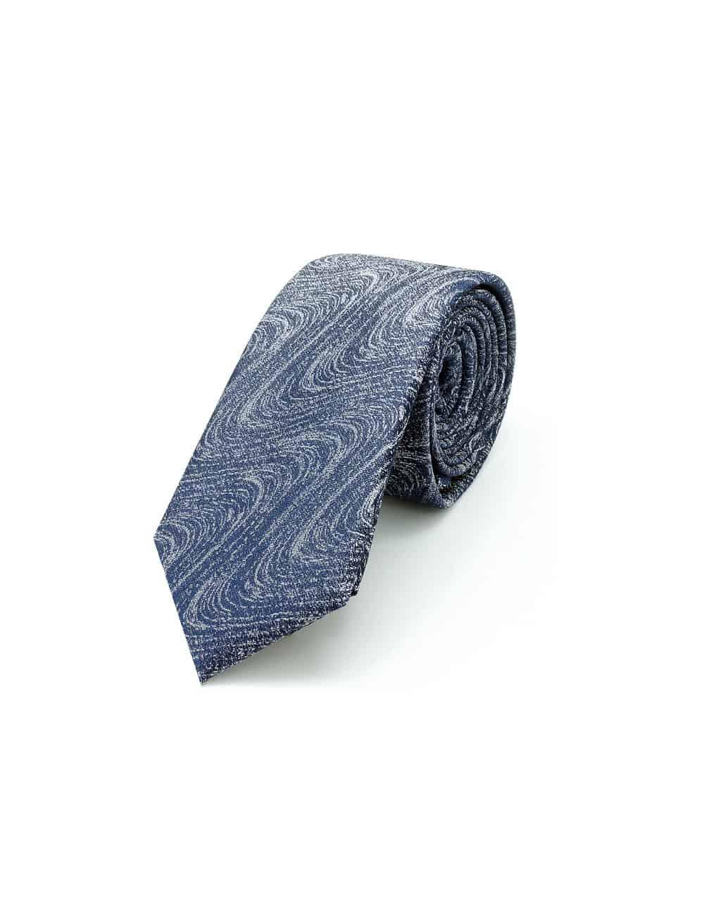 Grey Dobby Spill Resist Woven Necktie NT38.9