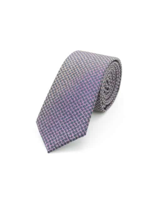 Pink Dobby Spill Resist Woven Necktie NT50.9