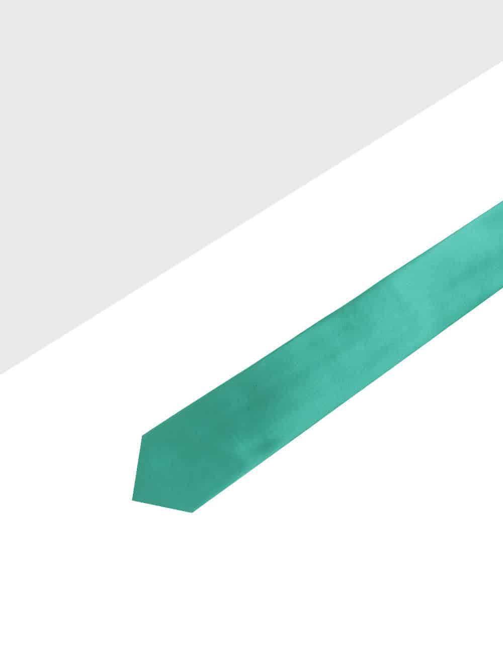 Solid Alpine Green Woven Necktie NT6.9