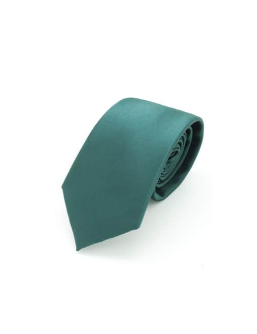 Solid Dark Green Woven Necktie NT7.9
