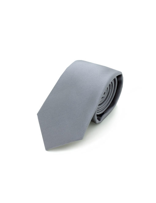 Solid Smoked Grey Woven Necktie NT9.9