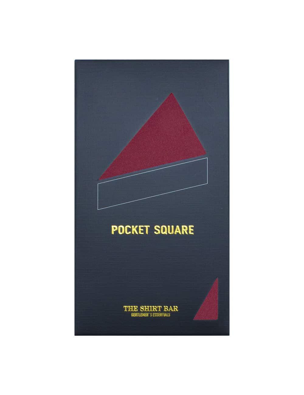 Solid Wine Pocket Square PSQ22.6