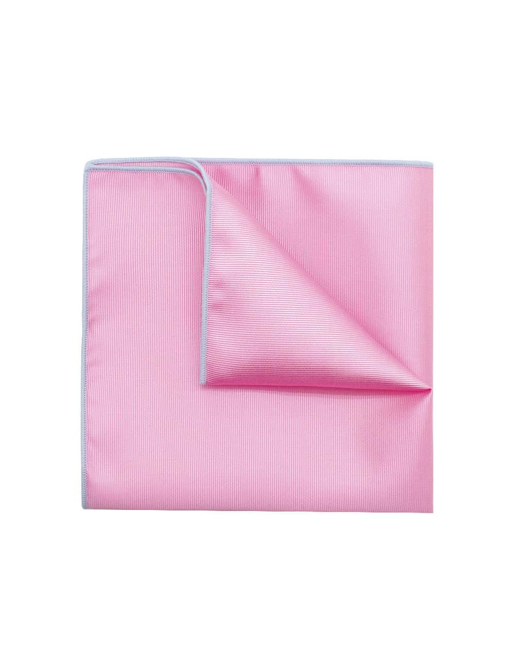 Solid Prism Pink Pocket Square PSQ30.6